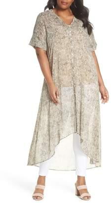 Sejour Longline Flowy Dress