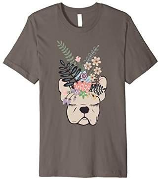 French Bulldog Floral Shirt for Women French Bulldog Gifts