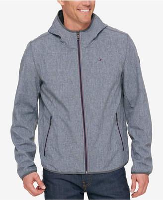 Tommy Hilfiger Men's Hooded Soft Shell Jacket