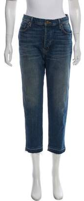The Great Frayed High-Rise Jeans