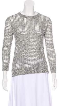 Theory Rainee Linen-Blend Sweater
