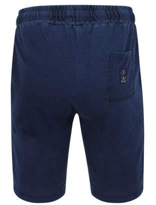Tokyo Laundry Kilter Indigo Blue Jersey Shorts Small
