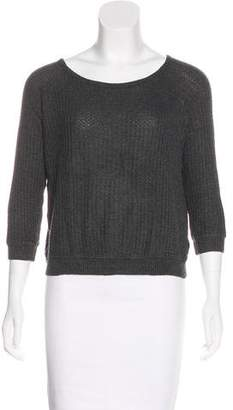 Graham & Spencer Knit Three-Quarter Sleeve Sweater
