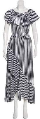 M.D.S. Stripes Sleeveless Maxi Dress w/ Tags