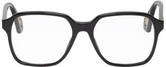 Gucci Black Square Acetate Glasses