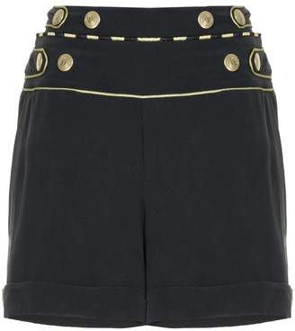 Pierre Balmain high waisted mini shorts