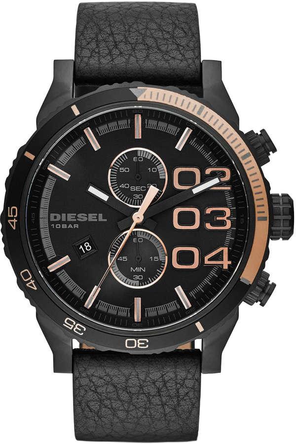 DieselDiesel Double Down Chrono Watch