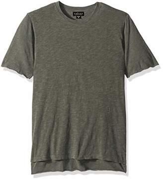 Velvet by Graham & Spencer Men's Cordero Double Layer Short Sleeve tee Shirt