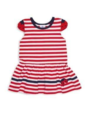 Florence Eiseman Toddler's& Little Girl's Striped Fit-&-Flare Dress