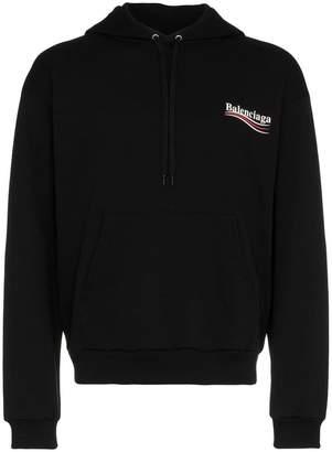 Balenciaga Political logo hoodie sweater