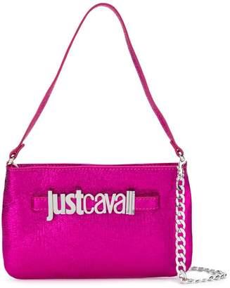 Just Cavalli fuchsia tote bag