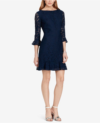 American Living Ruffled Lace Dress $99 thestylecure.com
