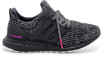 check out f6682 8d251 adidas UltraBoost in Cloud White   Black   Shock Pink   FWRD