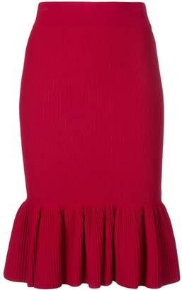 Akris Punto ribbed-knit skirt