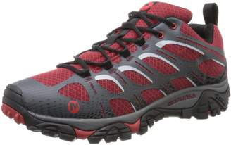 Merrell Moab Edge Hiking Shoes, Black/grey, 9 M M US Adult