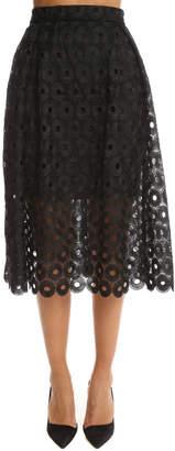 Nicholas Spot Lace Ball Skirt
