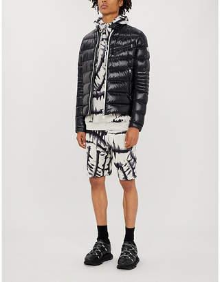Moncler High-shine padded shell jacket