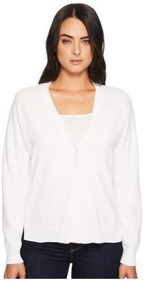 Michael Stars Cotton Knits Reversible Cardigan Women's Sweater
