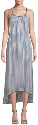 Saks Fifth Avenue Women's Stripe Cotton Maxi Dress