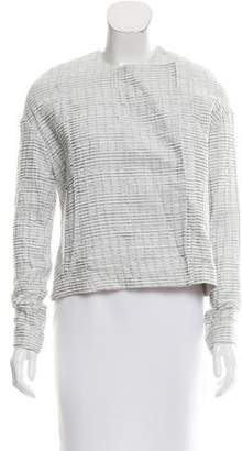 Jeremy Laing Collarless Asymmetrical Jacket w/ Tags