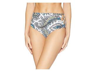 Ella Moss Breezy Boho High-Waist Pants Women's Swimwear