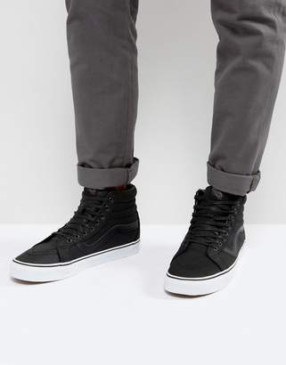 Vans Sk8-HI Reissue Premium Leather Sneakers