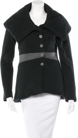 Balenciaga  Balenciaga Single-Breasted Short Coat