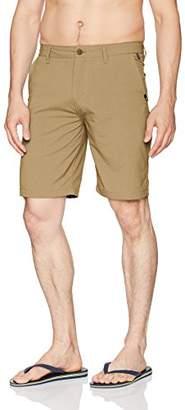 "Quiksilver Men's Transit Twill Amphibian 20"" Boardshort Walk Shorts"