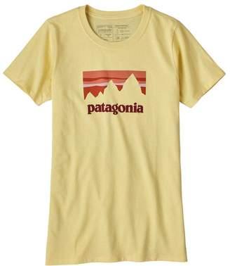 Patagonia Women's Shop Sticker Cotton/Poly Responsibili-Tee®
