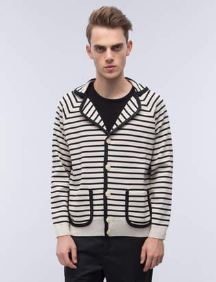 Marc Jacobs Stripe Cardigan