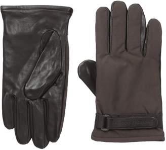 Armani Exchange A|X  Men's Goat Leather Gloves