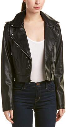 Sam Edelman Starburst Moto Jacket