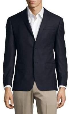 Michael Kors Grid Wool Jacket
