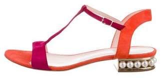 Nicholas Kirkwood Casati Colorblock Sandals