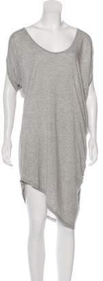 Haute Hippie Short Sleeve Midi Dress