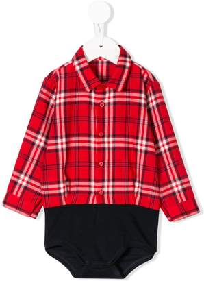 Il Gufo checked shirt body