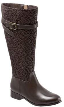Trotters Lyra Leather Riding Boots