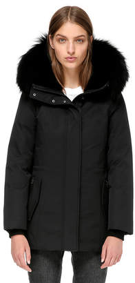 Mackage Danika Semi-Fitted Winter Down Coat With Fur