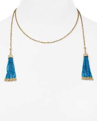 "Kendra Scott Monique Tassel Choker Necklace, 15"""