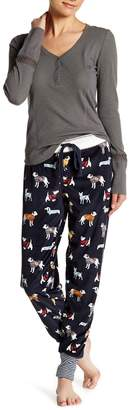 PJ Salvage Dogs in Sweaters Velour Jogger Pants