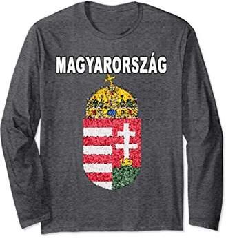 Magyarorszag Long Sleeve - Hungarian Emblem Shirt