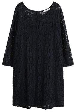 Violeta BY MANGO Guipure cotton dress