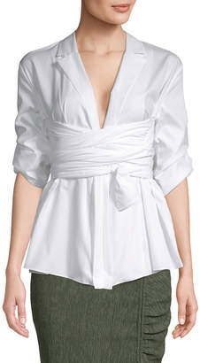 Camilla And Marc Clarissa Wrap Shirt