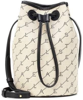 Stella McCartney Monogram canvas bucket bag