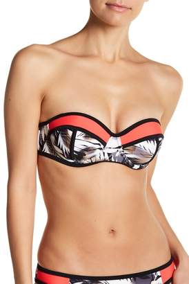 Heat Swim Havana Nights Underwire Bandeau Bikini Top