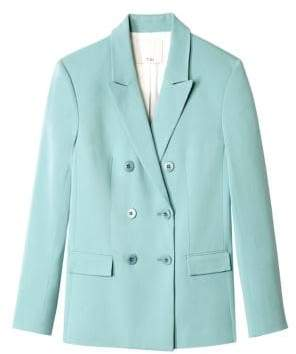 Tibi Steward Stretch Suiting Blazer