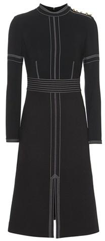 Burberry Burberry Wool-blend dress