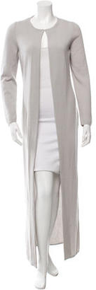 Vera Wang Single-Closure Long Cardigan $125 thestylecure.com