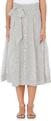 Lisa Marie Fernandez Women's Cotton A-Line Beach Skirt $545 thestylecure.com