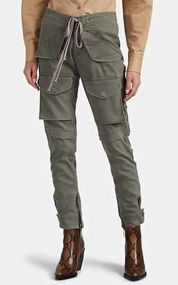 Greg Lauren Women's Army Cargo Lounge Pants - Green